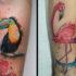 Nagyszerű, színes tetoválásokat csináltathat Győrött.